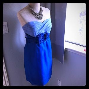 Phoebe Couture dress Royal blue